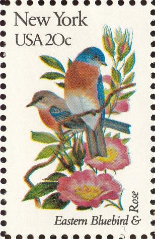 NY State Bird stamp