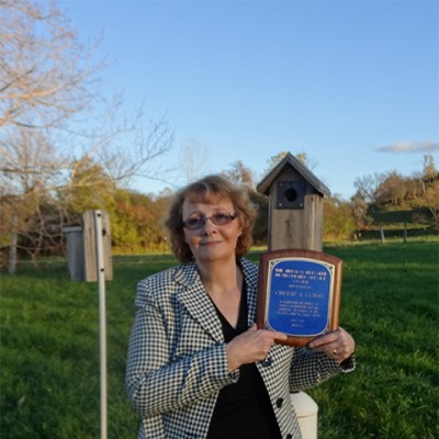 Cherie Layton, recipient of the 2012 Bressler Award